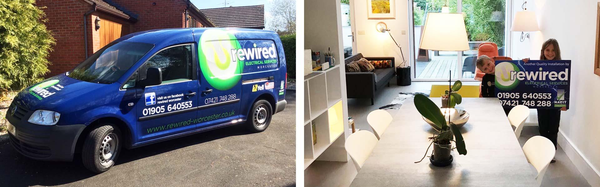 Rewired Worcester Van